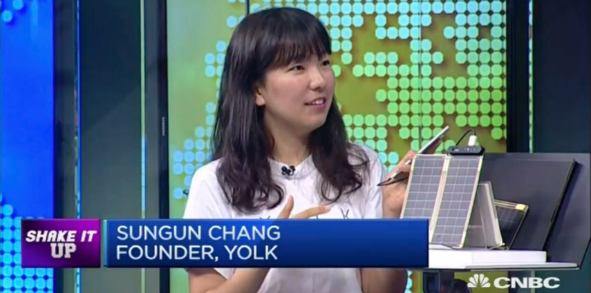 Korea's Solar Paper Charges Kickstarter Campaign with CNBC Interview