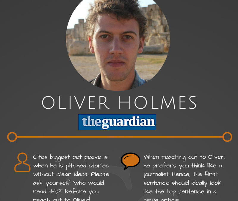 Writer Spotlight: Oliver Holmes From The Guardian