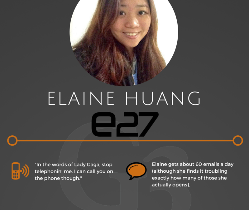 Writer Spotlight: Elaine Huang of e27 on how startups should implement their PR strategy
