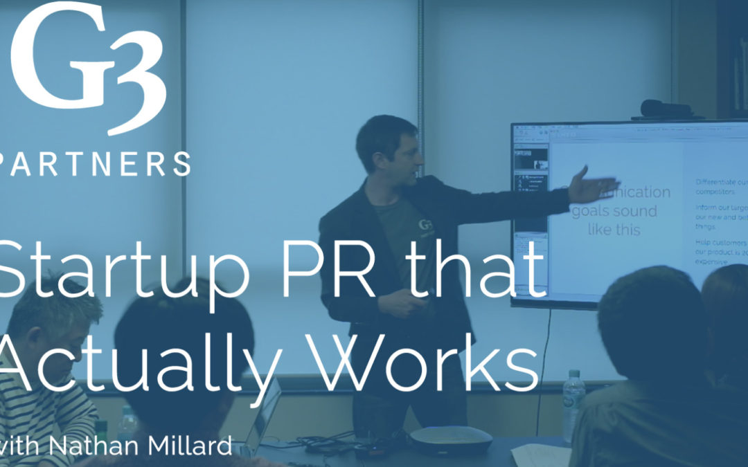 Startup PR that Actually Works – Free Video Workshop
