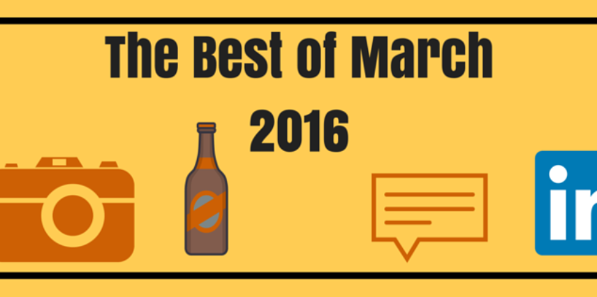 The Best Startup PR Blog Posts of March 2016 (that all happen to be written by G3 Partners)