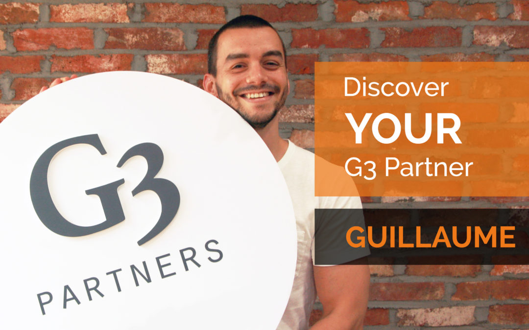 Meet Your G3 Partner: Guillaume